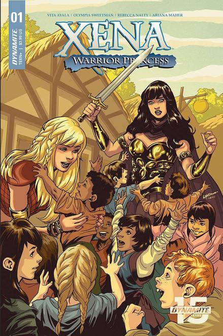 Dynamite Entertainment Xena Warrior Princess #1 Comic Book [Emanuela Lupacchino Cover B]