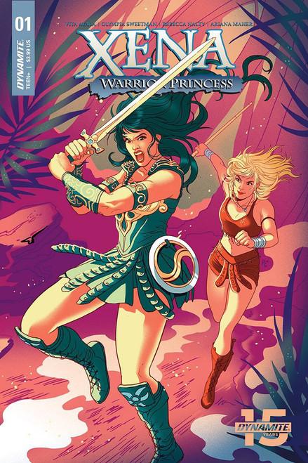 Dynamite Entertainment Xena Warrior Princess #1 Comic Book [Paulina Ganucheau Cover D]