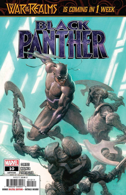 Marvel Black Panther #10 Comic Book