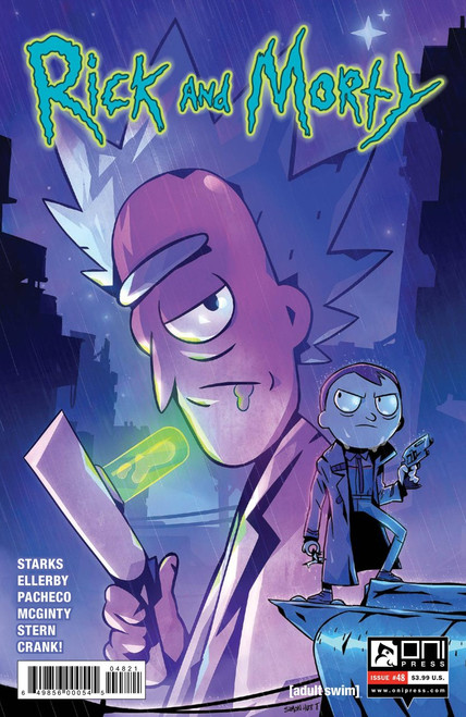 Oni Press Rick & Morty #48 Comic Book [Troussellier Cover B]