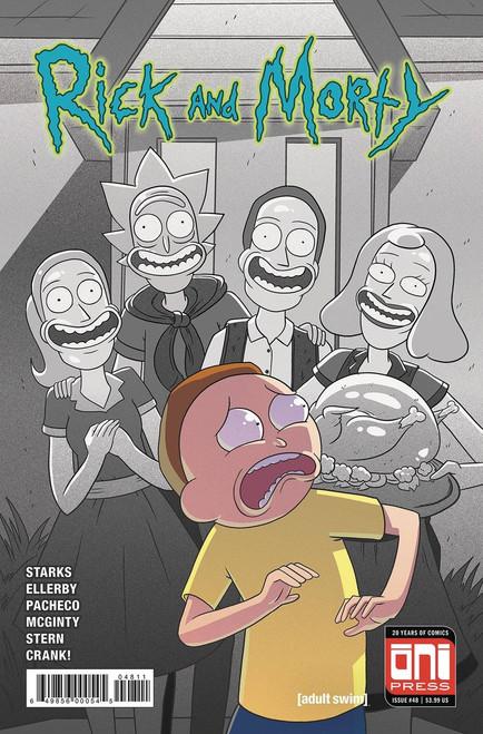Oni Press Rick & Morty #48 Comic Book [Cover A]