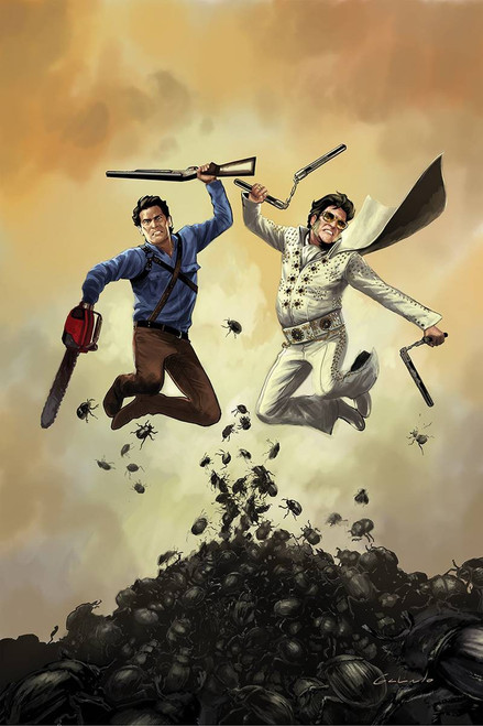 Dynamite Entertainment Army of Darkness Vs. Bubba Hotep #3 Comic Book [Diego Galindo Virgin Cover]