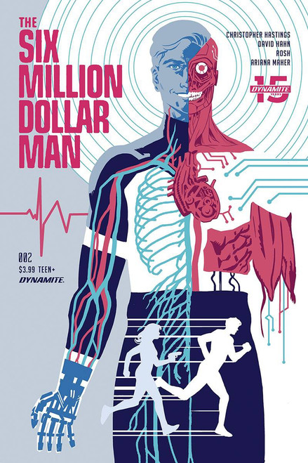 Dynamite Entertainment Six Million Dollar Man #2 Comic Book