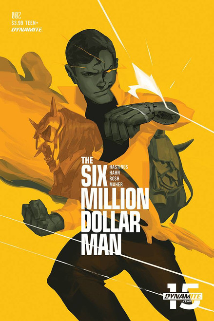 Dynamite Entertainment Six Million Dollar Man #2 Comic Book [Felipe Magana Cover C]