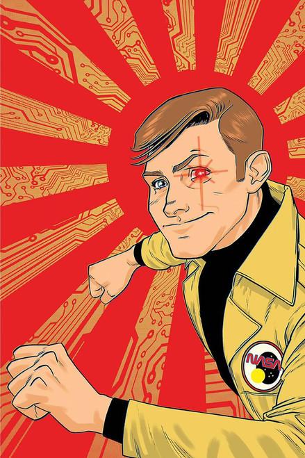 Dynamite Entertainment Six Million Dollar Man #2 Comic Book [Adam Gorham Virgin Cover]