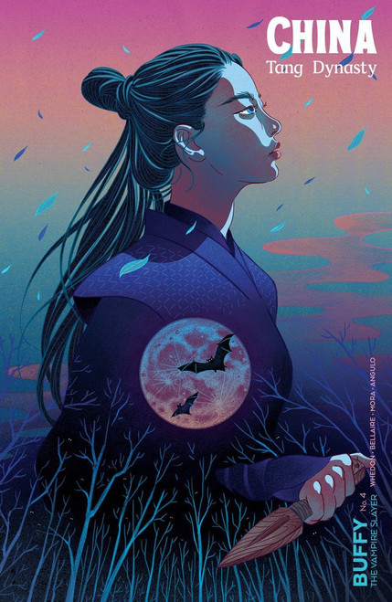 Boom Studios Buffy The Vampire Slayer #4 Comic Book [Feifei Ruan Variant Cover]
