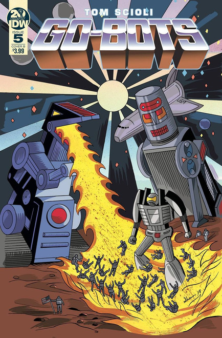 IDW Go-Bots #5 Comic Book [Shaw Cover B]