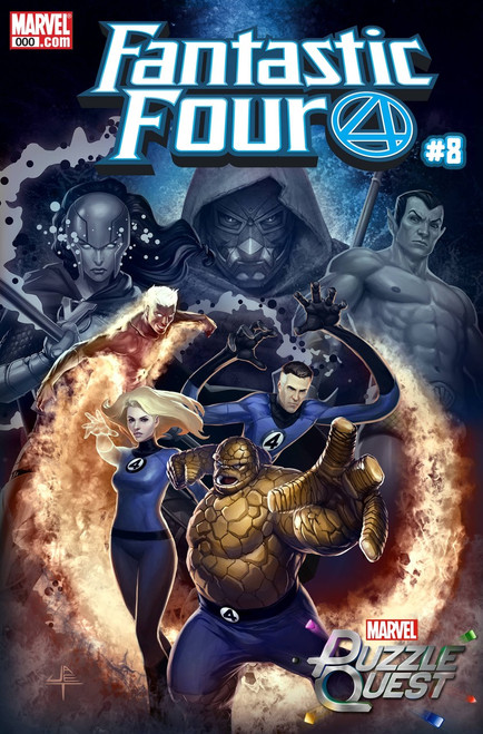 Marvel Comics Fantastic Four #8 Comic Book [Yongho Cho Variant]