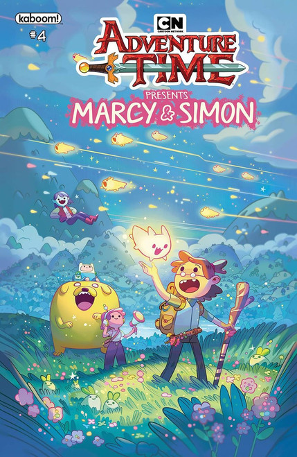 KaBOOM! Adventure Time Marcy & Simon #4 Comic Book [Ray Tonga Simon Variant Cover]