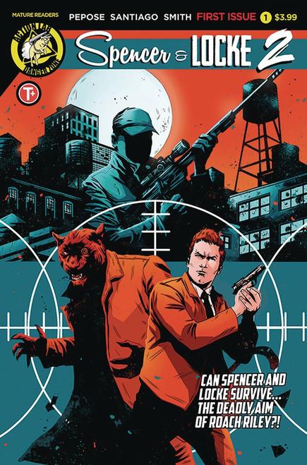 Danger Zone Spencer & Locke 2 #1 Comic Book [Maan House Cover B]