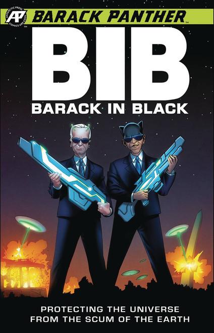 Antartic Press Barack Panther: Barack in Black #1 Comic Book