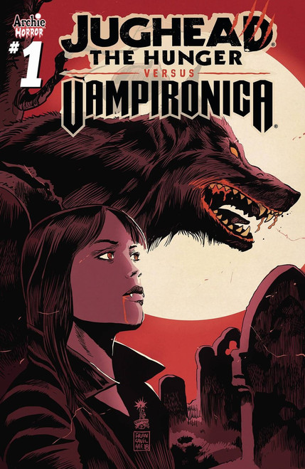 Archie Comic Publications Jughead Hunger Vs. Vampironica #1 Comic Book [Francesco Francavilla Cover B]