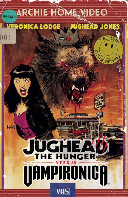 Archie Comic Publications Jughead Hunger Vs. Vampironica #1 Comic Book [Robert Hack Cover C]
