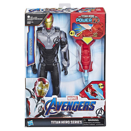 Marvel Avengers Endgame Titan Hero Series Power FX 2.0 Iron Man Action Figure