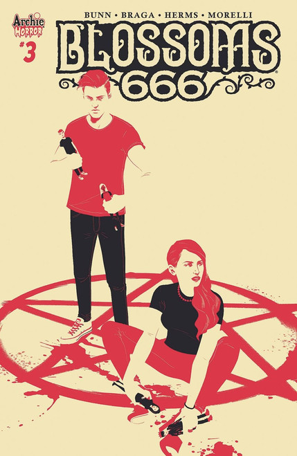 Archie Comic Publications Blossoms 666 #3 Comic Book [Matt Taylor Cover C]