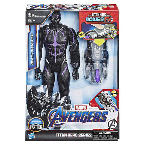 Marvel Avengers Endgame Titan Hero Series Black Panther Action Figure (Pre-Order ships August)