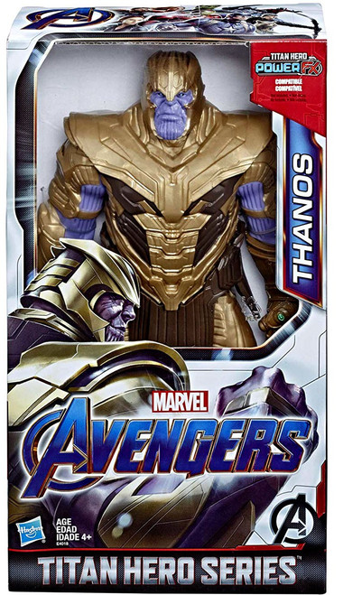 Marvel Avengers Endgame Titan Hero Series Deluxe Movie Thanos Action Figure