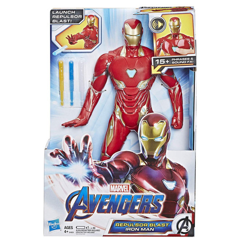 Marvel Avengers Endgame Iron Man Feature Action Figure