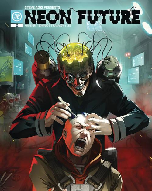 Impact Theory Neon Future #2 Comic Book