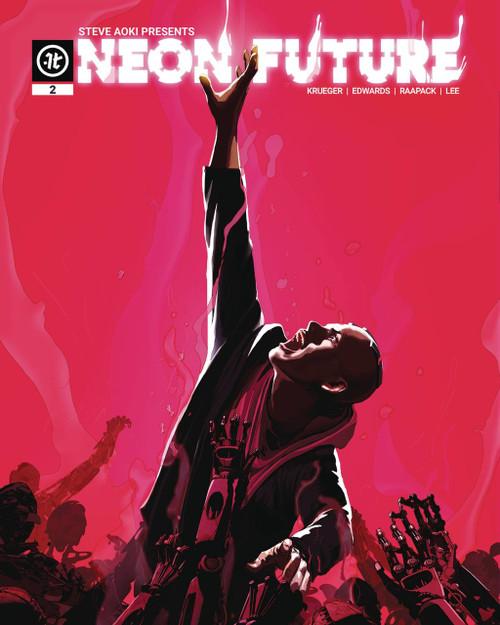 Impact Theory Neon Future #2 Comic Book [Maciej Kuciara Variant Cover B]