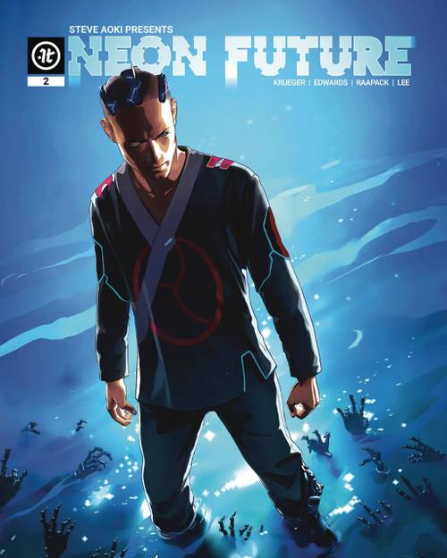 Impact Theory Neon Future #2 Comic Book [Maciej Kuciara Variant Cover C]