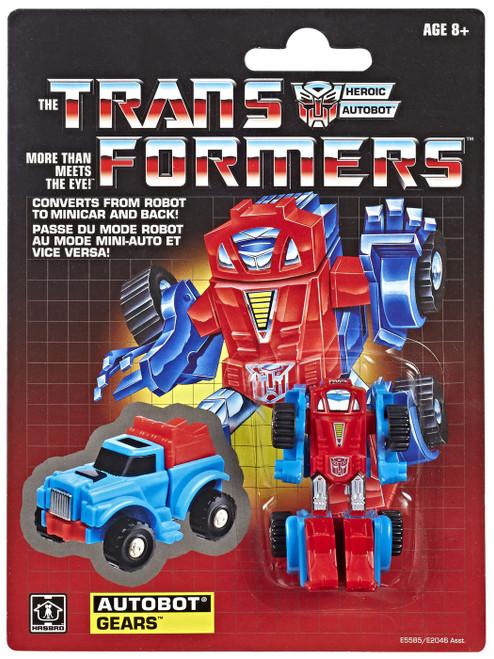 Transformers Gen 1 2019 Reissue Gears Exclusive Action Figure