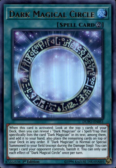 YuGiOh Duel Power Ultra Rare Dark Magical Circle DUPO-EN051
