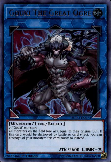 YuGiOh Duel Power Ultra Rare Gouki The Great Ogre DUPO-EN073