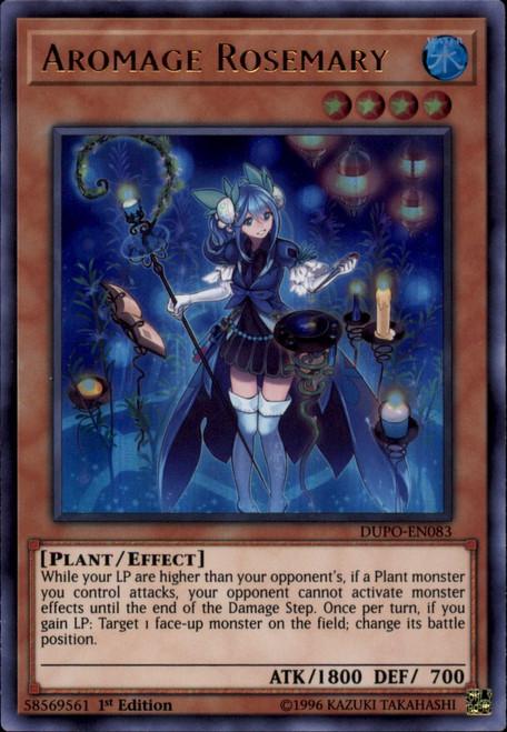 YuGiOh Duel Power Ultra Rare Aromage Rosemary DUPO-EN083