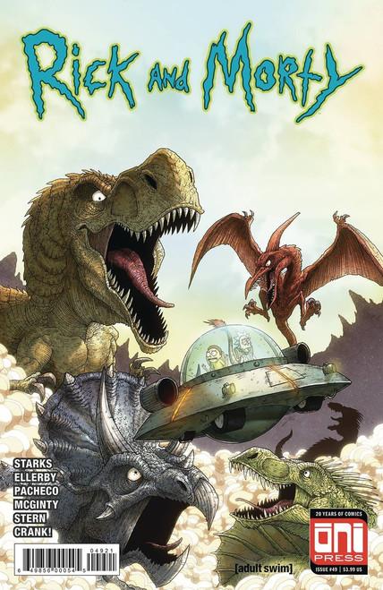 Oni Press Rick & Morty #49 Comic Book [Cover B]