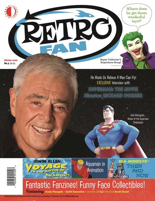Twomorrows Publishing Retro Fan Issue 3 Magazine