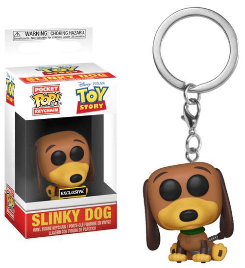 Funko Disney / Pixar Toy Story Pocket POP! Slinky Dog Exclusive Keychain