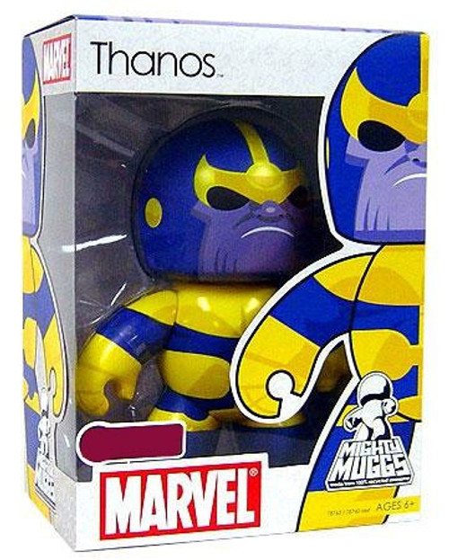 Marvel Mighty Muggs Exclusives Thanos Exclusive Vinyl Figure [Damaged Package]