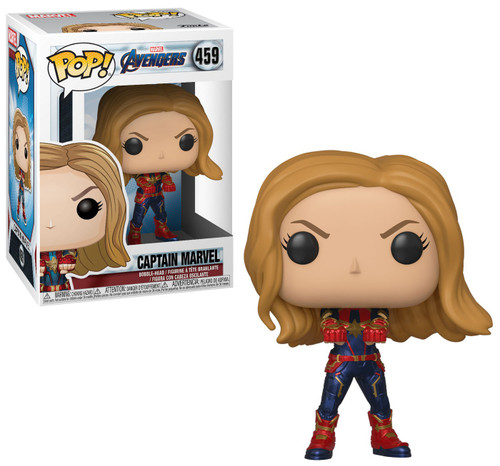 Funko Avengers Endgame POP! Marvel Captain Marvel Vinyl Figure [Endgame]