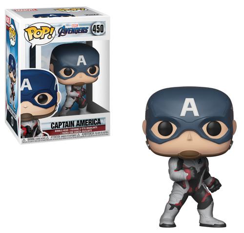 Funko Avengers Endgame POP! Marvel Captain America Vinyl Figure #350 [Endgame]