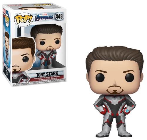 Funko Avengers Endgame POP! Marvel Tony Stark Vinyl Figure #449 [Endgame]