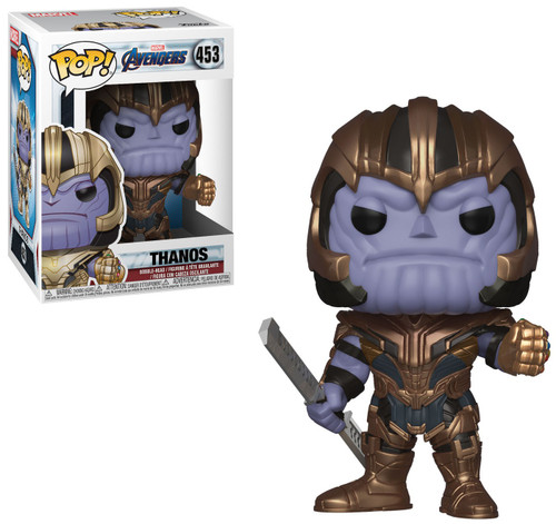 Funko Avengers Endgame POP! Marvel Thanos Vinyl Figure #453 [Endgame]