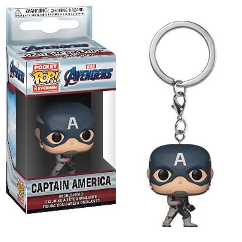 Funko Avengers Endgame POP! Marvel Captain America Keychain