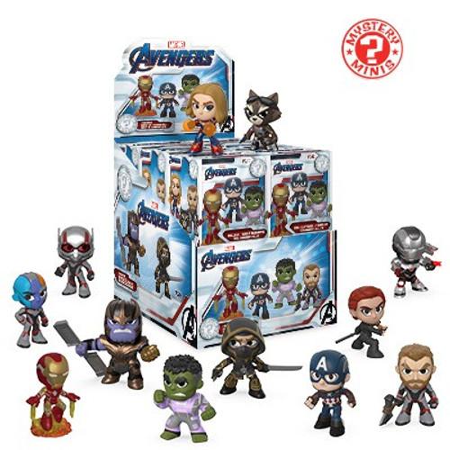 Funko Marvel Mystery Minis Avengers Endgame Mystery Box [12 Packs]