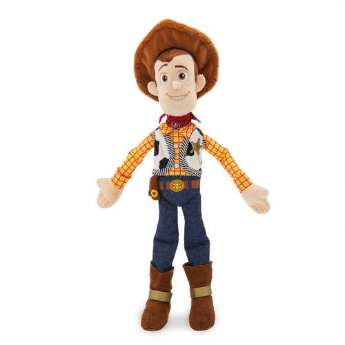 Disney Toy Story 4 Woody Exclusive 12-Inch Mini Bean Bag Plush [2019 Version]