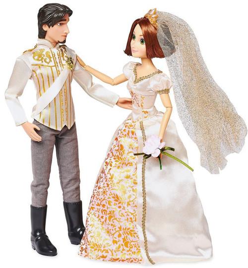 Disney Princess Tangled Classic Rapunzel & Eugene 11.5-Inch Wedding Doll 2-Pack Set
