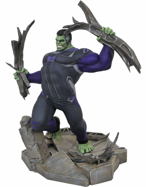 Avengers Endgame Marvel Gallery Hulk 9-Inch Deluxe Collectible PVC Statue