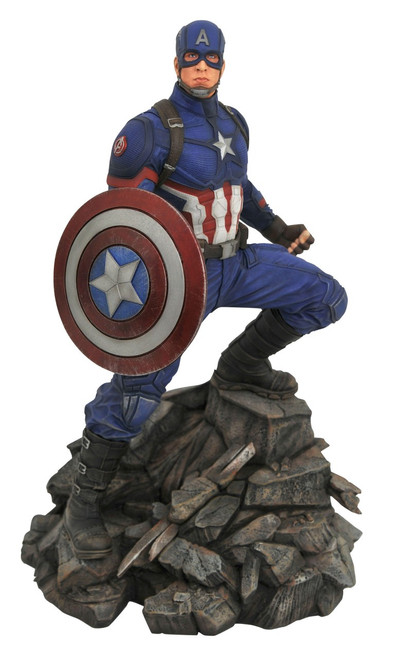 Avengers Endgame Marvel Premier Collection Captain America 12-Inch Resin Statue [Avengers Endgame]