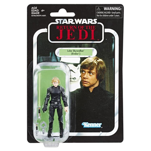 Star Wars Return of the Jedi Vintage Collection Wave 20 Luke Skywalker Action Figure [Endor]