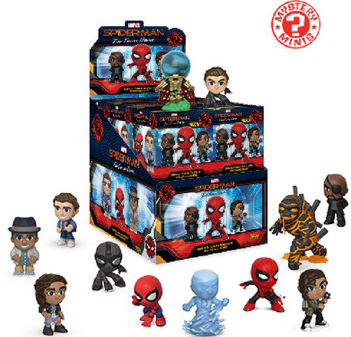 Funko Marvel Spider-Man Far From Home Mystery Minis Far From Home Mystery Box [12 Packs]