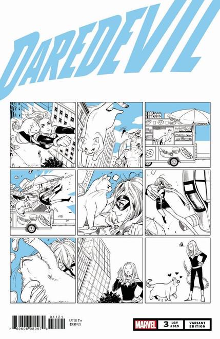Marvel Comics Daredevil #3 Comic Book [Fuji Cat Variant]