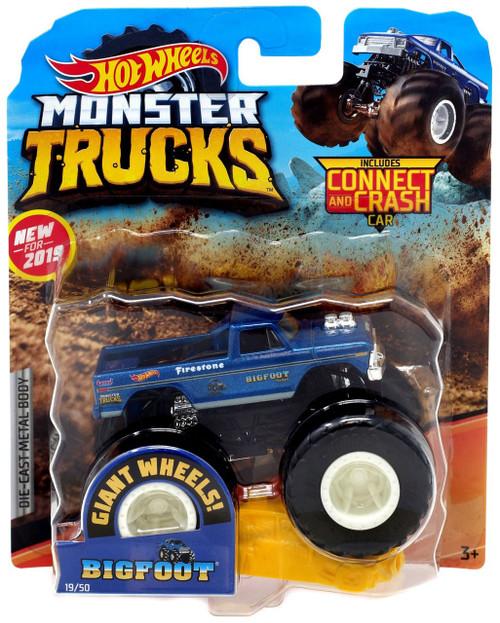 Hot Wheels Monster Trucks Bigfoot Diecast Car