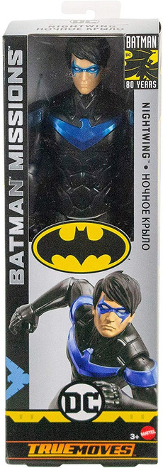 DC Batman Missions Nightwing Action Figure [True Moves]