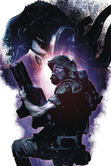 Dark Horse Aliens Rescue #1 Comic Book [Mack Chater Variant Cover]