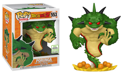Funko Dragon Ball Z POP! Animation Porunga Exclusive 6-Inch Vinyl Figure #553 [Super-Sized, Damaged Package]